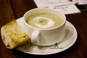 Green Macha tea soup