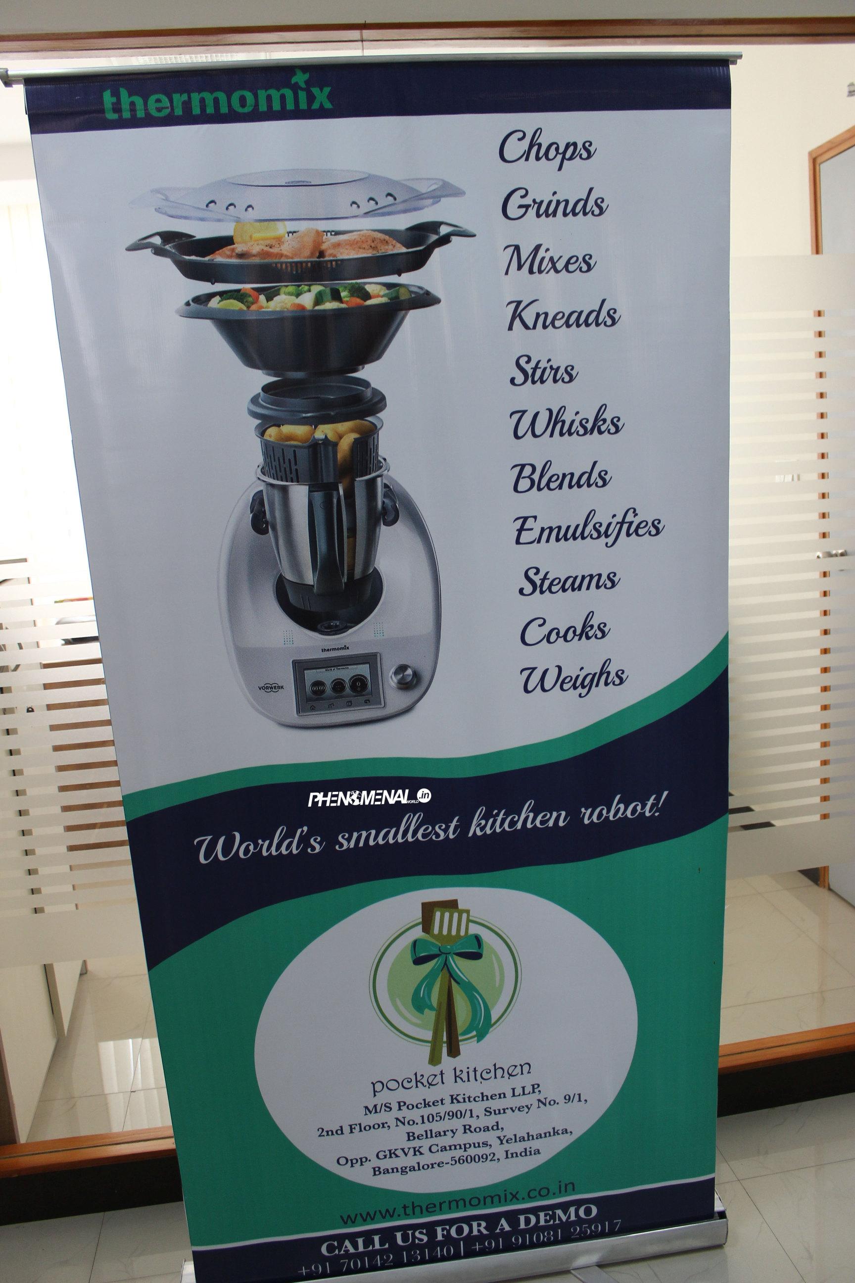 Worlds Smallest Kitchen Robot Thermomix Phenomenal World