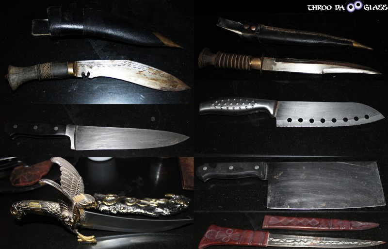 K,knife,dagger,weapon,Khukri,chef knife,cleaver,a-z,a2z, a2z challenge,pravs,praveen,throo da looking glass, through the looking glass, bangalore blog, praveen