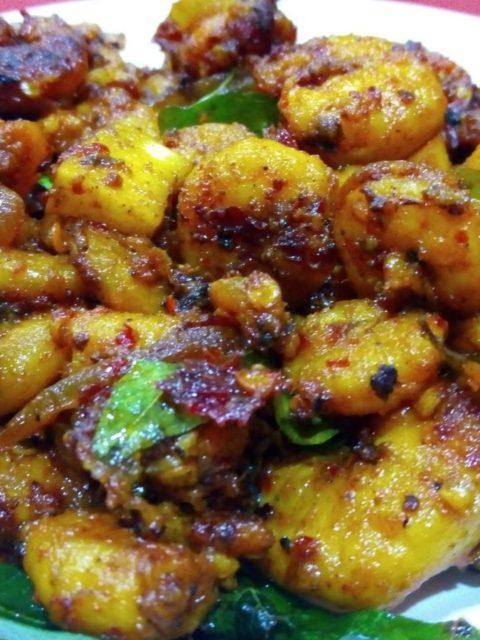 Mullapanthal - Prawns fry