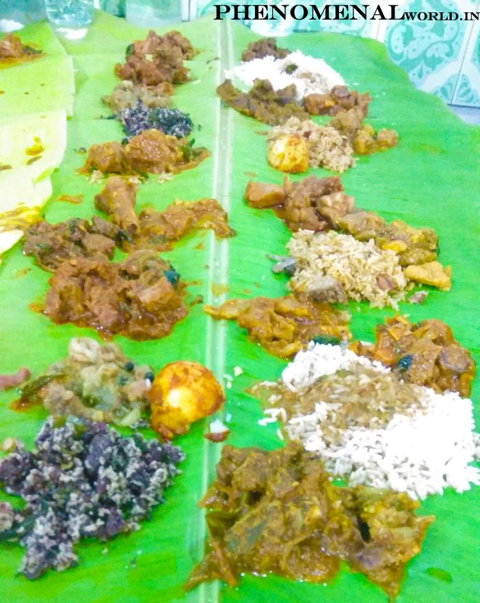 Having 20 + varieties of meat for Lunch on an 8 feet banana leaf – UBM Namma Veetu Saapaadu