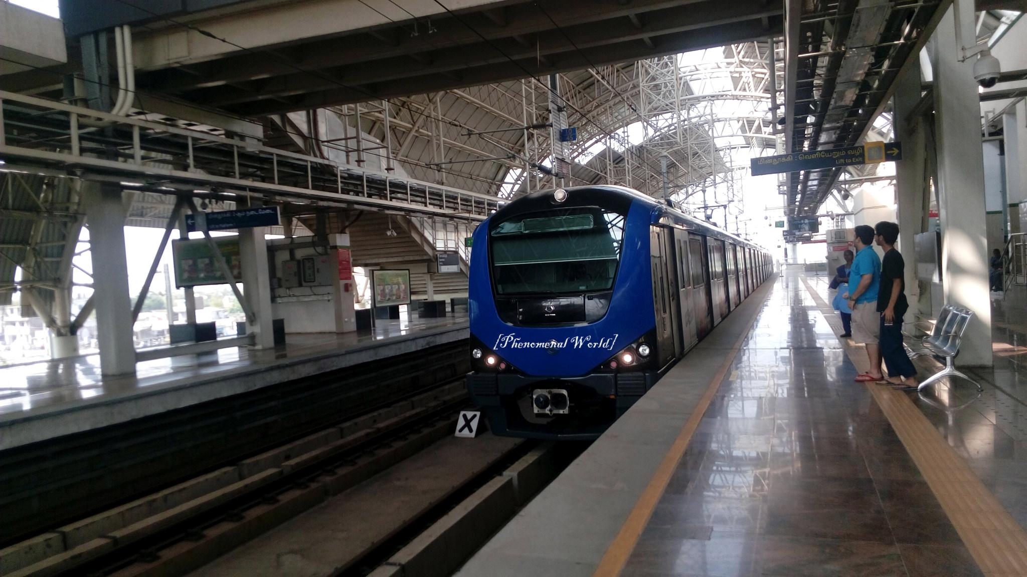Joy Ride to Nowhere and back on the Chennai Metro