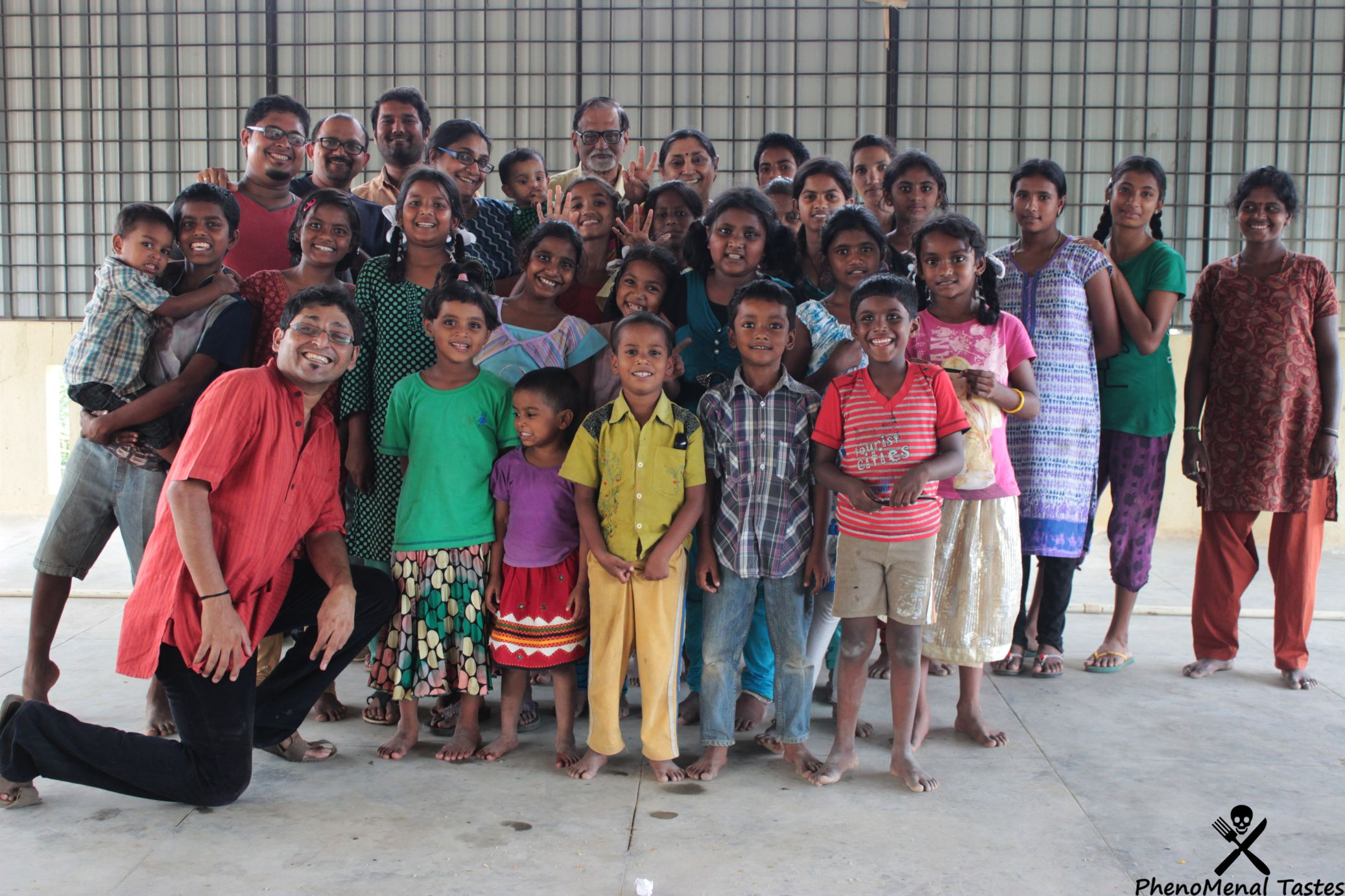 Food Fun and Revelations – Rotary E Club of Chennai & Foodie meetup at St. Gaspar Education Trust for Kids